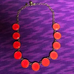 🌞Summer Fun! Flo Neon Pink Baublebox Gem Necklace